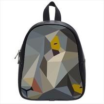 Geometric Cat Leather Kid's School Bag / Children's Backpack - $33.94+