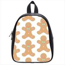 Gingerbread Cookie Leather Kid's School Bag / Children's Backpack - $33.94+