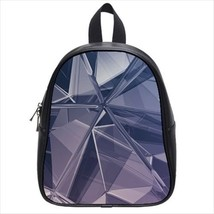 Glass Shards Leather Kid's School Bag / Children's Backpack - $33.94+