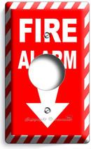 Fire Alarm Decorative Air Conditioner Plug Wall Plate Cover Room Home Art Decor - $8.09