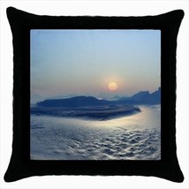 Icebound Plateau Throw Pillow Case - $16.44