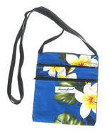 Made in Hawaii Cotton 2 Front pocket Cross Body... - $14.99