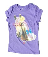 NWT Lot of 3 Graphic Horse Shirts Girls Small 5... - $18.99