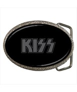 Knight in Satan Service Kiss Rock And Roll Belt Buckle - $9.65