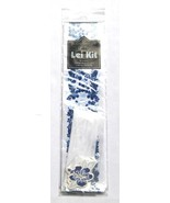 Hawaiian Stationary Blue Hibiscus Lei Making Ki... - $8.99