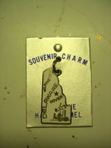 Vintage ~ Deleware State Charm ~ with colored enamel ~NOS - $10.99
