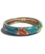Hawaiian Style Cloisonne Honu Turtle Teal Multi... - $8.99