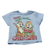 NWT Gray Disney Chip n Dale Chipmunk T Shirt Ch... - $14.99