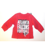 NFL Team Apparel Infant Atlantic Falcon Long Sleeve Shirt Various Size NWOT - $12.59