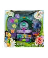 Disney Fairies Flower Scents Jewelry Box 1 necklace 1 bracelet 1 ring  8... - $16.81