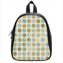 Patterned Dot Smuge Leather Kid's School Bag / Children's Backpack - $33.94+