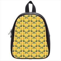 Peacock Birds Leather Kid's School Bag / Children's Backpack - $33.94+