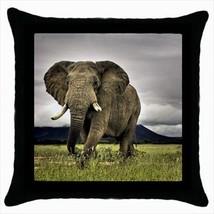 Safari Elephant Throw Pillow Case - $16.44