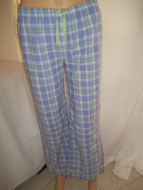 Old Navy Womens' Checked Style Sleepwear Pants-Purple/Green/White-Size:14 - $14.00