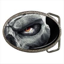 Skeleton Eyes Belt Buckle - $9.65