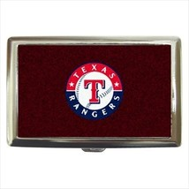 Texas Rangers Cigarette Money Case - MLB Baseball - $12.56