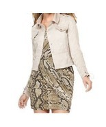 MICHAEL Michael Kors Jacket Sz 4 Taupe Khaki Casual Wear Light Weight Ja... - $76.93