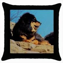 Tibetan Mastiff Throw Pillow Case - Dog - $16.44