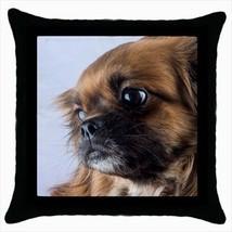 Tibetan Spaniel Throw Pillow Case - Puppy Dog - $16.44