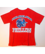 MLB Philadelphia Phillies Girls Boys T-Shirts Size XSmall 4 NWT - $11.69