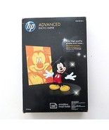 """NEW HP Advanced 4x6"""" Glossy Photo Paper 100 Ct Inkjet 2010 Mickey Mouse ... - $19.98"""