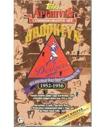 1995 topps archives brooklyn dodgers box sandy koufax autograhs rare - $999.99