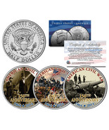 CIVIL WAR * 150th Anniversary * 1864-2014 JFK K... - $362,31 MXN