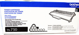 BROTHER TN-750 HIGH YIELD TONER CARTRIDGE  - $24.99