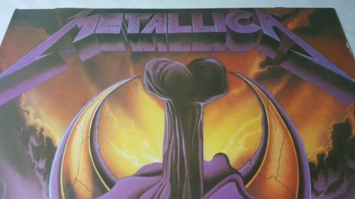 Vtg Metallica Poster Concert Skull Sword and 50 similar items