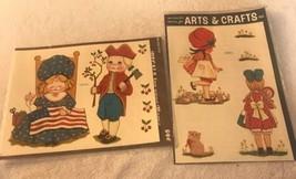 Vintage MEYERCORD DECAL Children Dolls NEW-OLD-STOCK nos unused 1532-C 1... - $13.09