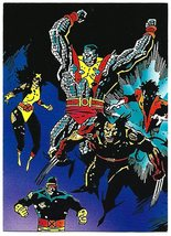 Wolverine From Then 'Til Now Set 2 Trading Card #33 X-Men Mike Mignola - 1992 - $2.95