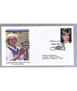 PRINCESS DIANA BOLIVIA 1st Day COVER with STAMP... - £3.92 GBP
