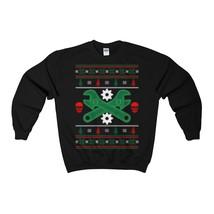 Mechanic Ugly Christmas Sweatshirt Xmas - $29.95+