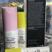 Brand New In Box Drunk Elephant Babyfacial 15mL WITH BONUS gifts image 4