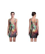 DMT Trippy Psychedelic art Bodycon Dress - $19.80+