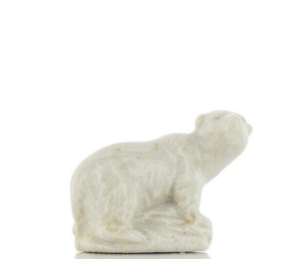 Whimsies Wade England Miniature White Polar Bear
