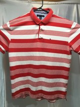 Vintage 90's Tommy Hilfiger XL Polo Small Flag made in USA - $17.10