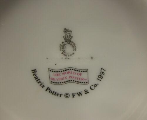 Royal Doulton Childs 2 Handled Cup & Bowl Beatrix Potter Jemima Puddleduck image 8