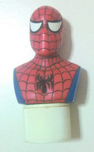 Spiderman candy topper figure rubber stamp USED - $13.85