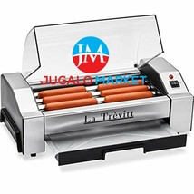 La Trevitt Hot Dog Roller- Sausage Grill Cooker Machine- 6 Hot Dog Capac... - $90.82