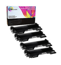 4 TN-450 TONER PRINT CARTRIDGE For Brother HL-2270 2240 2220 2280 MFC-72... - $25.80