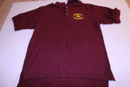 Men's Minnesota Gophers XL Polo Collared Dress Shirt (Maroon) Old Varsit... - $15.88
