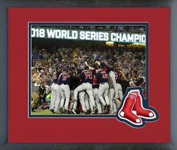 Boston Red Sox Celebrate Winning the 2018 World Series 11x14 Matted/Framed Photo - $42.95