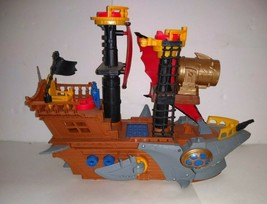 Fisher Price Imaginext Shark Bite Pirate Ship - $24.74
