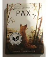 Pax by Sara Pennypacker (English) Hardcover Book 9780062377012 NEW B-07 - $13.69