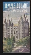 Temple Square in Salt Lake City (Utah) Mormons Vintage booklet-  - $9.03