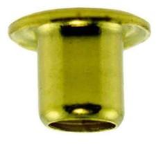 """(4) 1/16""""x1/16"""" SE2-2 Solid Brass EYELETS for Standard Gauge Trains - $3.99"""