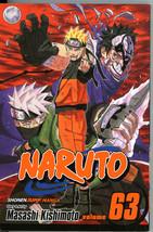 Naruto 63 World of Dreams Masashi Kishimoto Manga Graphic Novel Shonen Jump - $5.00