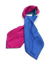 Hermes Carre 70 scarf silk pink multi-color vintage Auth - $475.66