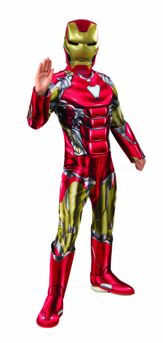Rubies Marvel Avengers 4 Endspiel Iron Man Deluxe Kinder Halloween Kostüm 700670